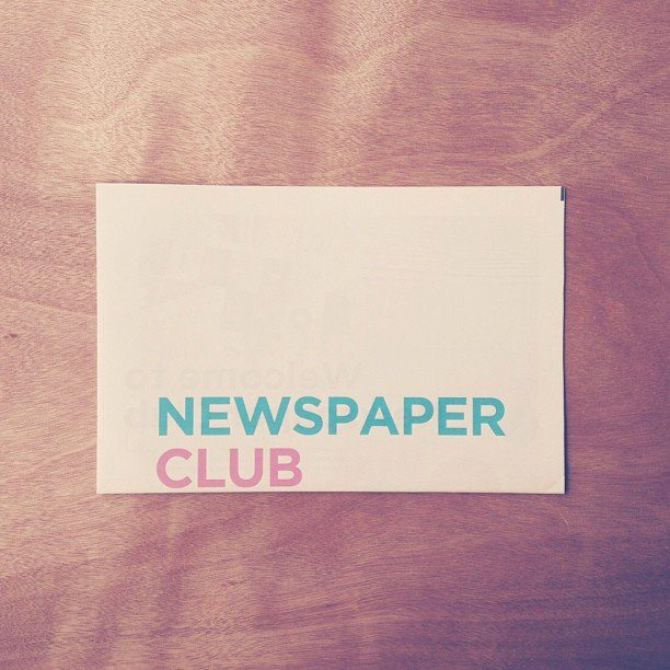 Good morning Newspaper Club.