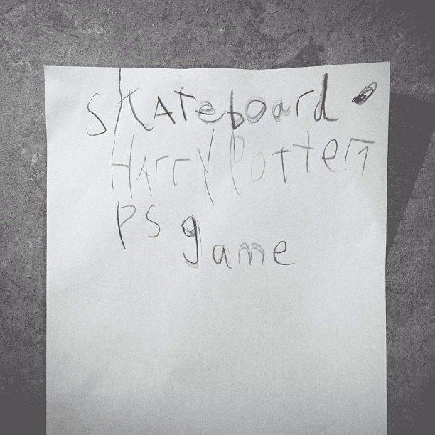 First borns 6th birthday list.