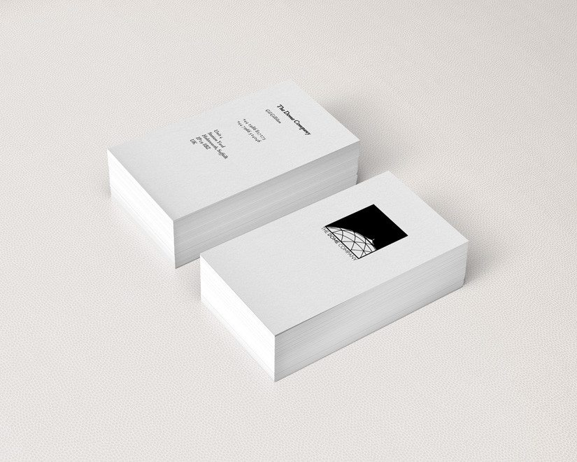 The-dome_company_business_card