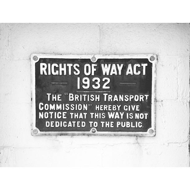 Vintage sign.
