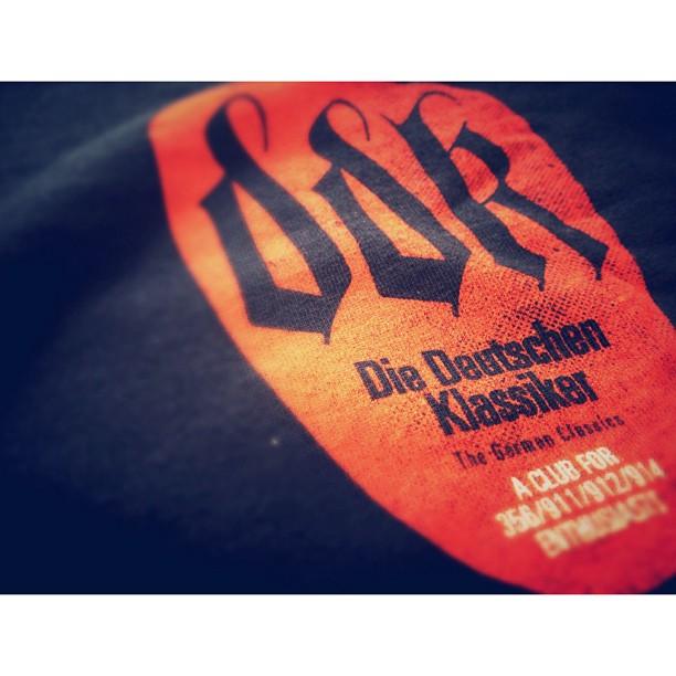 Our latest clothing designs have arrived for Die Deutschen Klassiker.