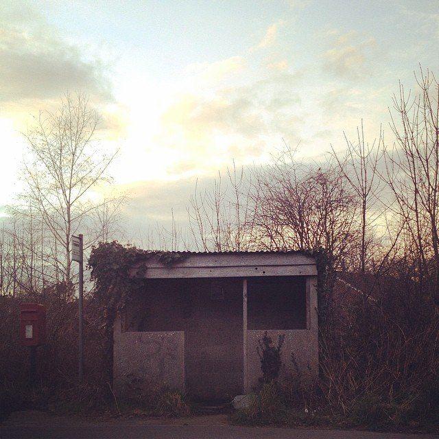 Bus Stopping. #dorset