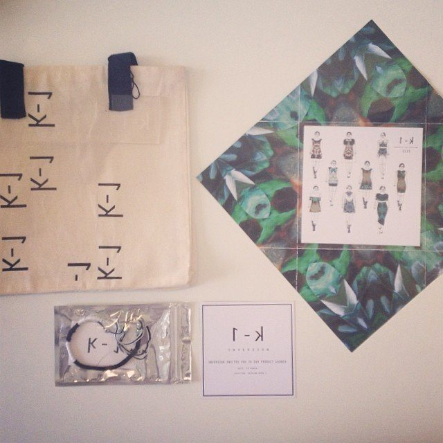 We've been invited to the launch of the SS15 capsule collection of INVERSION -