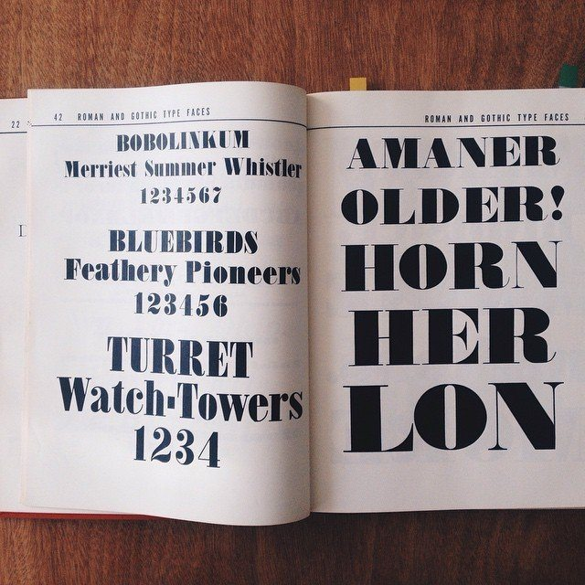 Choosing #type #typography