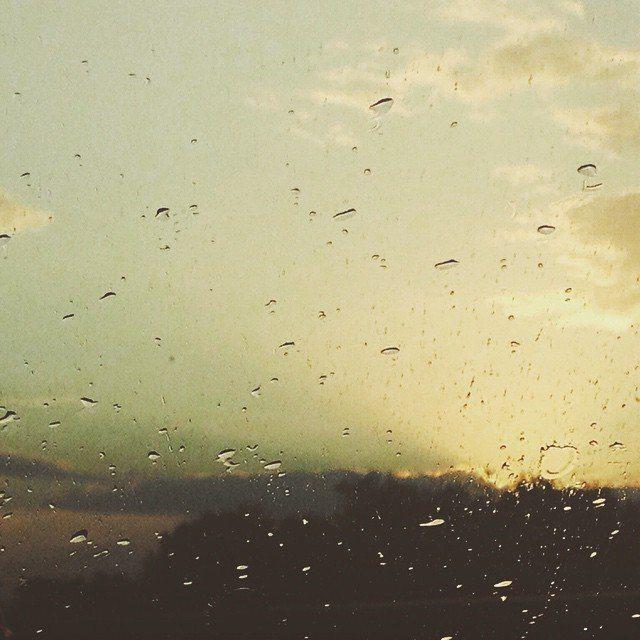 Sunset + Rain