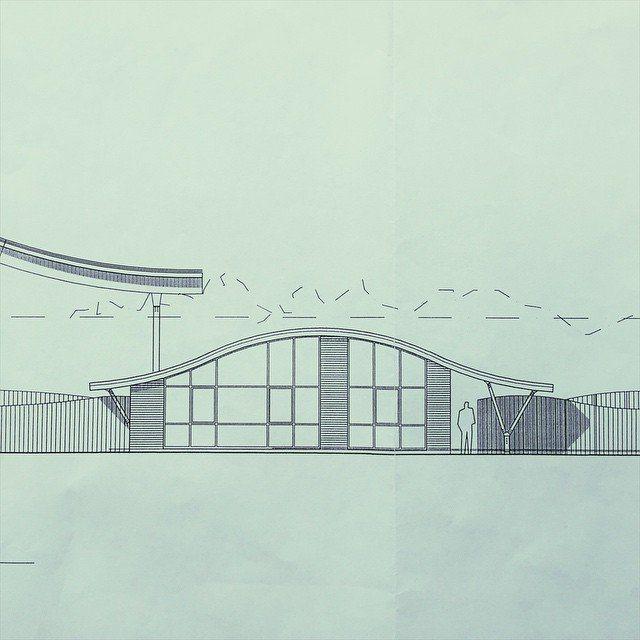Working on a new interior design & theme for @thefrontskatepark #design #installation #interiordesign #interior #neon