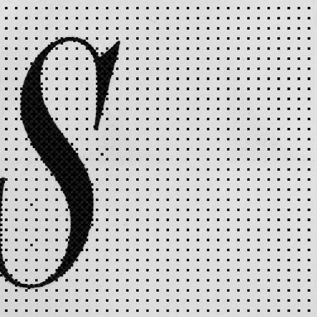 S — #s #design #grafik #graphic #graphicdesign #type #typography