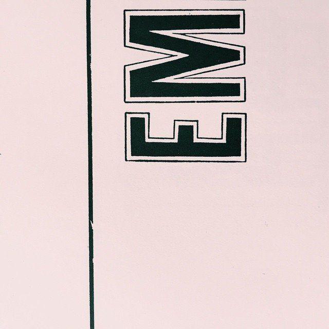 #E #M #graphicdesign #grafik #graphic #type #typeface #typography #typeshading #typebook #design