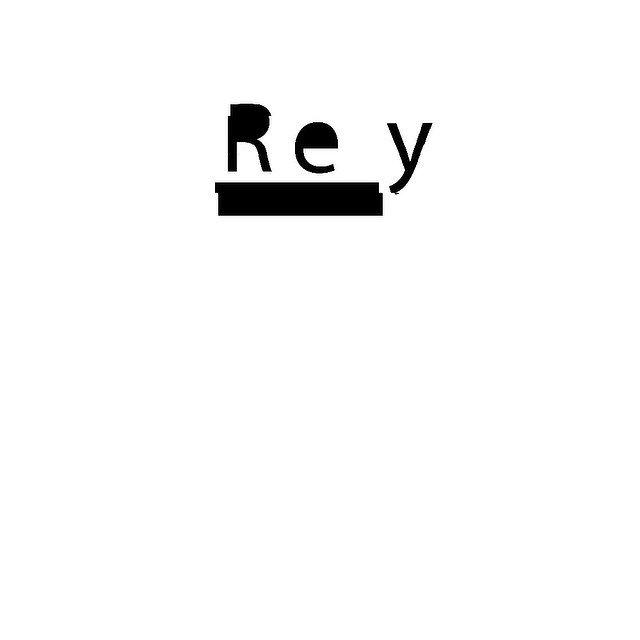 Work In Progress — Rey #typedesign #logo #grafik #graphic #logodesign #logotype #typography #type
