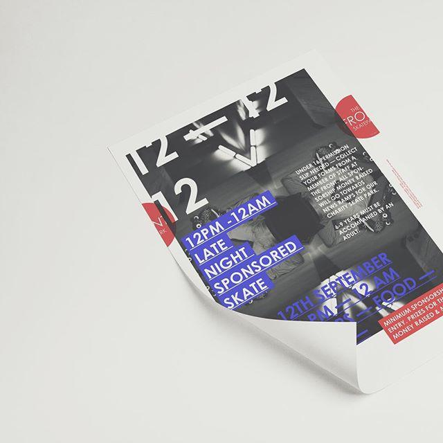 New poster — @thefrontskatepark #poster #skatepark #graphic #graphicdesign #design #skate #skating #posterdesign #posters