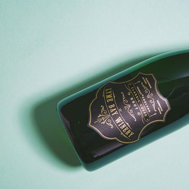 New Work — @lymebaywinery Lyme Bay English Sparkling Wine — Classic Cuvée #englishsparklingwine #design #graphicdesign #label #foil #deboss #wine #winetasting #wines #englishwine #vintage #designagency #artdirection #madeinengland #classiccuvee  #winelabel #english #englishsummer