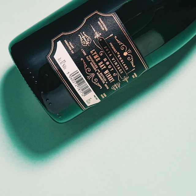 New Work — @lymebaywinery Lyme Bay English Sparkling Wine — Classic Cuvée #englishsparklingwine #cuvee #cuvée #classiccuvee #graphicdesign #label #foil #hotfoil #wine #winetasting #wines #englishwine #vintage #designagency #madeinengland