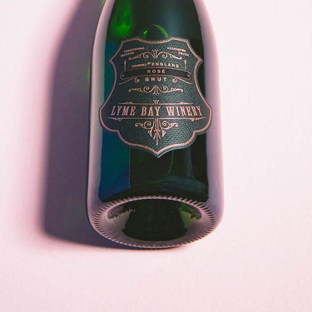 New Work — @lymebaywinery Lyme Bay English Sparkling Wine — Rosé #englishsparklingwine #rose #rosé #roséwine #graphicdesign #label #foil #hotfoil #wine #winetasting #wines #englishwine #vintage #designagency #madeinengland