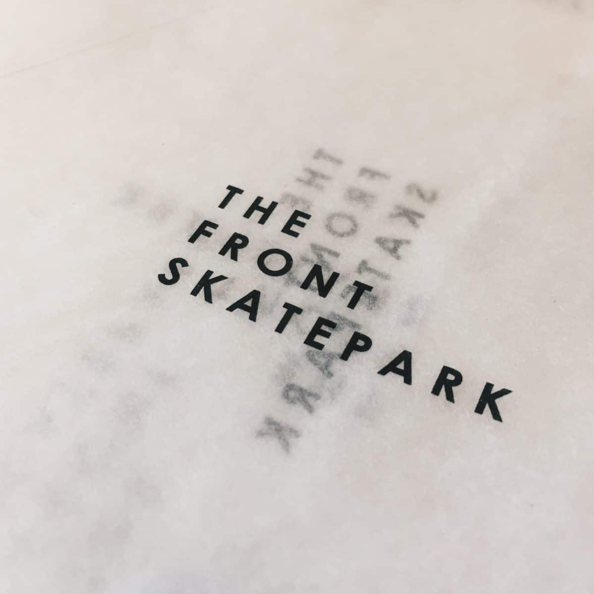New Work — Tissue Paper.The Front Skatepark .#logo #Brand #Branding #Design #Graphicdesign #Luxury #pattern #packagingdesign #packaging #British #NewRelease #Style #contemporary #handmade #london #dorset #repeat #graphicdesigner #graphicdesign #designagency #brandingagency #paper #tissuepaper #noissue