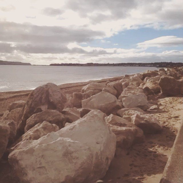 Preston Beach. Post storm. #dorsethour #dorset