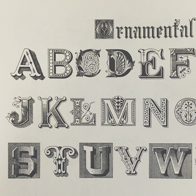 Ornamental type choosing. #type #ornamentaltype #design #typography #graphicdesign