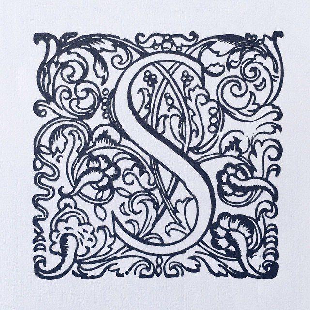 17th-century initials. #type #typebook #typeface #typography #typespecimen #glyph #graphic #graphicdesign