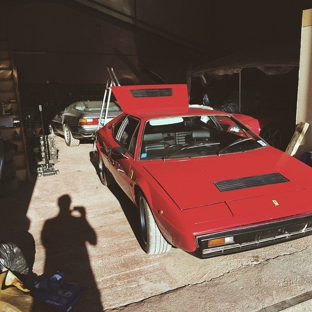 So this happened yesterday. #classiccar #Ferrari #ferraridino #car