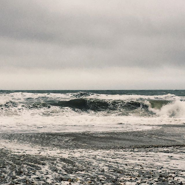 Work In Progress — location recce for new film with @harbour_media #film #films #filming #filmmaking #dorset #storm #sea