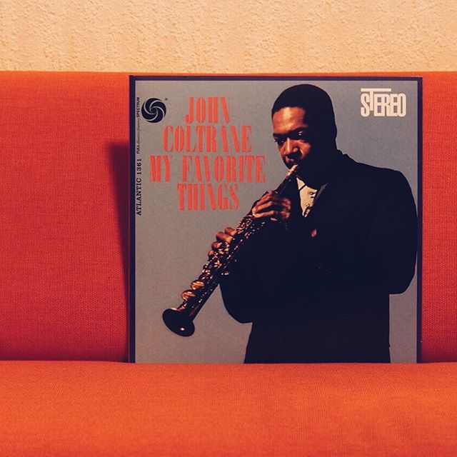 Today's studio sounds supplied by John Coltrane — MY FAVOURITE THINGS #jazz #friday