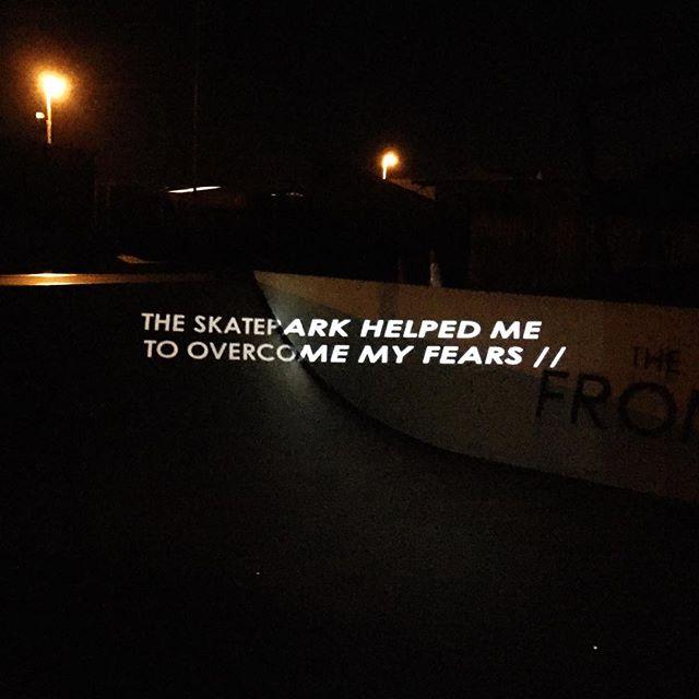 Work In Progress — @thefrontskatepark #type #typography #design #grafik #graphic #graphicdesign #font #skate #skatepark #typeface #art #artdirection