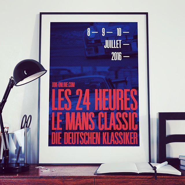 DDK Porsche club — #lemansclassic #lemans #poster #porsche #design #graphic #graphicdesign #art