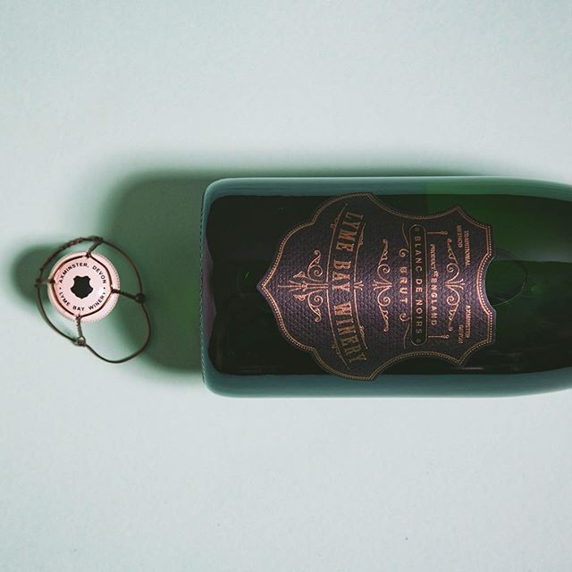 New Work — @lymebaywinery Lyme Bay English Sparkling Wine — Blanc de Noirs #englishsparklingwine #design #graphicdesign #label #foil #deboss #wine #winetasting #wines #englishwine #vintage #designagency #artdirection #madeinengland #blankdenoirs #winelabel #english #englishsummer