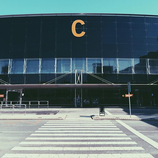 C is for Complete — #spain #c #barcelona #type #typography #font #design #graphic #graphicdesign #work #artdirection #airport