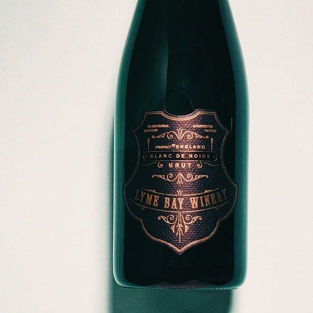 Lyme Bay English Sparkling Wine Label Design, Cork, Muzzle & Foil— #englishsparklingwine #winelabel #labeldesign #branding #graphicdesign #label #foil #deboss #wine #winetasting #wines #englishwine #vintage #vinyards #winenot #winelife