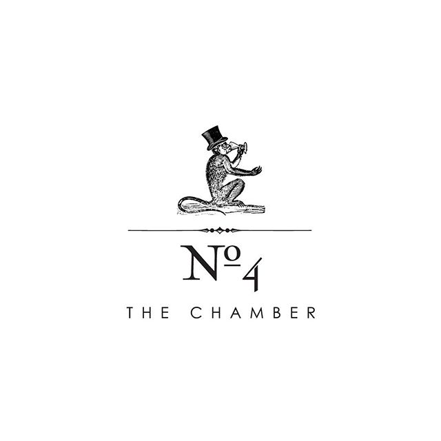 Archive Work — N°4 THE CHAMBER.The identity builds on the history of the Port of Weymouth and its relationship with shipping and ultimately that of the Ships Monkey. Its said that in the early periods of shipping, a Ships Monkey was common place on these Merchant Ship..#logo #logodesign #logodesigner #brand #branding #identity #design #designer #artdirector #resturant #food #wine #bar #london #mayfair