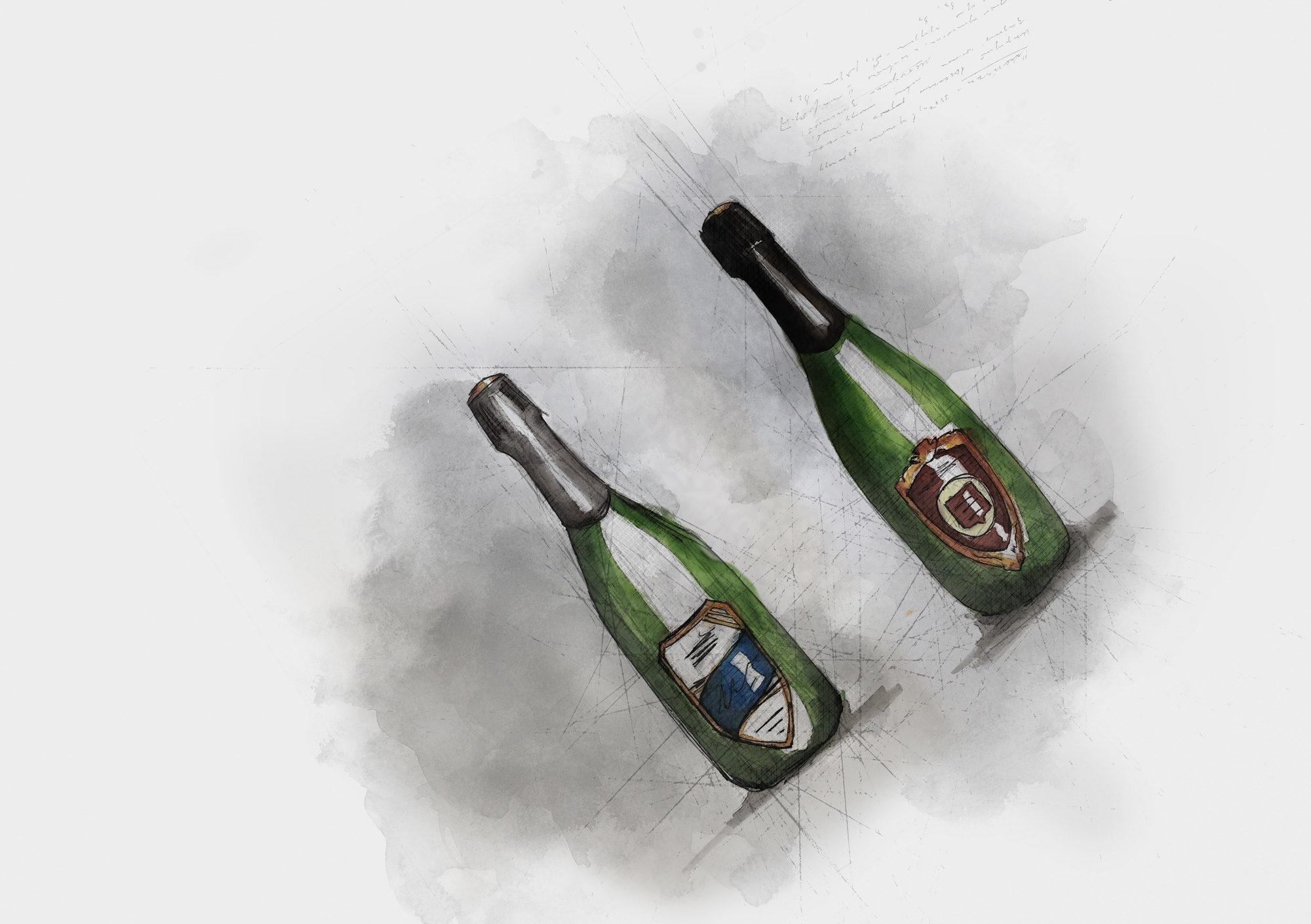 From The Archive — Development Work.@lymebaywinery.#englishsparklingwine #drawing #packaging #packagingdesign #labeldesign #branding #graphicdesign #label #foil #deboss #wine #winetasting #wines #englishwine #vintage #vinyards #winenot #winelife #england #British #markers #pens #art #sparklingwine