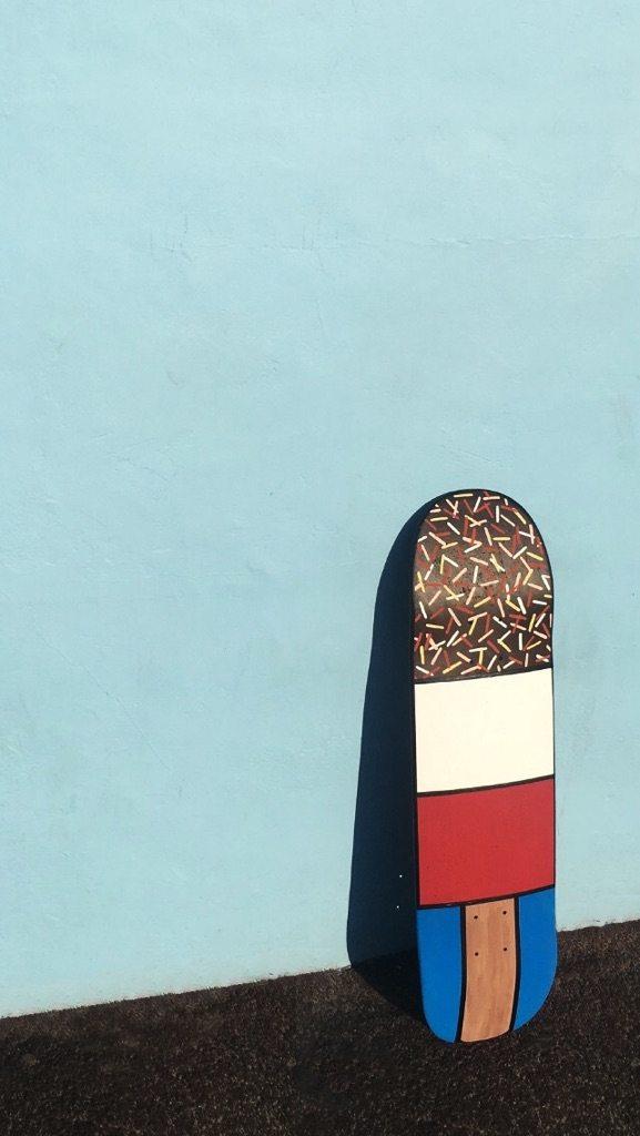 Work In Progress — Skate.@thefrontskatepark.#skateboard #skateboarding #skatepark #illustration #icecream #lolly #lollypop #design #agencylife #graphicdesigner #graphicdesign #igers #igersoftheday