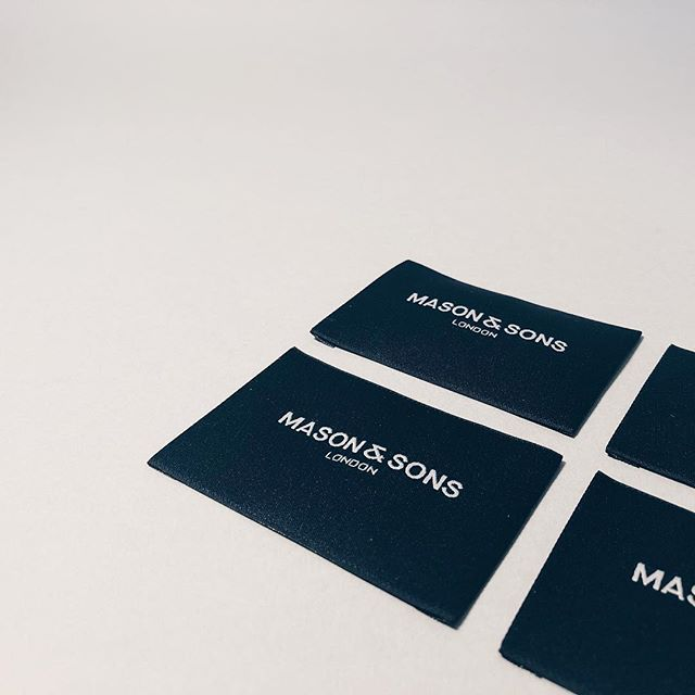 New Work — Coming Soon.Mason & Sons.#Brand #Branding #Design #Graphicdesign #Luxury #British #NewRelease #Style #mensfashion #contemporary #mayfair #savilerow #marlybone #london #dorset #graphicdesigner #graphicdesign #designagency #brandingagency #stitching #label